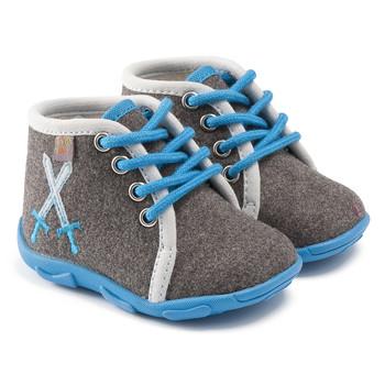 鞋子 男孩 拖鞋 GBB DAGONET TTX GRIS-CIEL DTX/AMIS