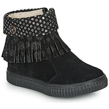 鞋子 女孩 短筒靴 Catimini PERETTE 黑色