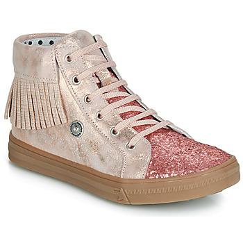 鞋子 女孩 高帮鞋 Catimini LOULOU Vts / 玫瑰色