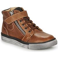 鞋子 男孩 高帮鞋 Catimini TOBBY 棕色