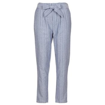 衣服 女士 多口袋裤子 Betty London IKARALE 蓝色 / 白色