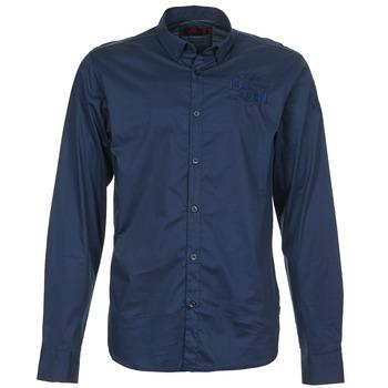 衣服 男士 长袖衬衫 Les voiles de St Tropez ACOUPA 海蓝色