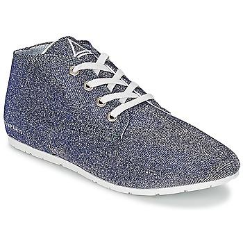 鞋子 女士 球鞋基本款 Eleven Paris BASGLITTER 银色