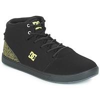 鞋子 兒童 高幫鞋 DC Shoes CRISIS HIGH SE B SHOE BK9 黑色 / 綠色