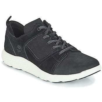 鞋子 男士 高帮鞋 Timberland 添柏岚 FlyRoam Leather Oxford 黑色
