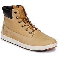 鞋子 儿童 高帮鞋 Timberland 添柏岚 Davis Square 6 Inch Boot 棕色