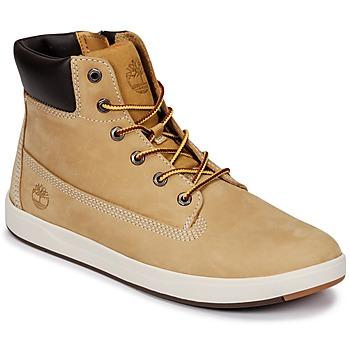 鞋子 兒童 高幫鞋 Timberland 添柏嵐 Davis Square 6 Inch Boot 棕色