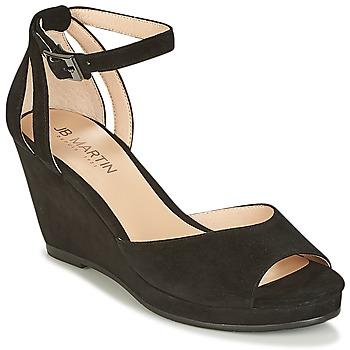 鞋子 女士 凉鞋 JB Martin QUASAR 黑色