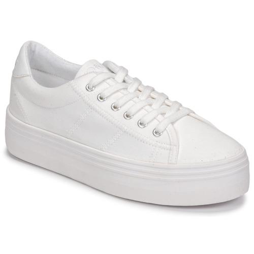 鞋子 女士 球鞋基本款 No Name PLATO SNEAKER 白色
