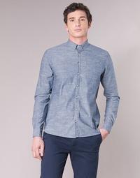 衣服 男士 长袖衬衫 Casual Attitude IPODRUM 蓝色