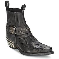 鞋子 女士 短筒靴 New Rock PRETO 黑色