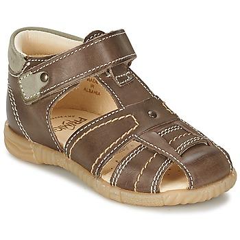 鞋子 男孩 凉鞋 Primigi LARS E 棕色