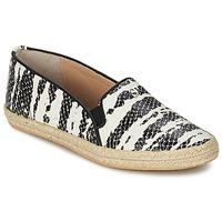 鞋子 女士 平底鞋 SuperTrash ALISA 蛇纹 / 黑色 / 米色