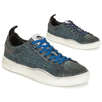 鞋子 男士 球鞋基本款 Diesel 迪赛尔 S-CLEVER LOW 蓝色
