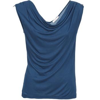 衣服 女士 无领短袖套衫/无袖T恤 DDP CARLA 海蓝色