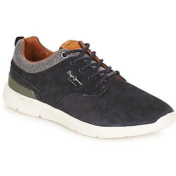 鞋子 男士 球鞋基本款 Pepe jeans Jayden 海蓝色