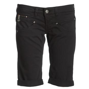衣服 女士 短裤&百慕大短裤 Freeman T.Porter BELIXA 黑色