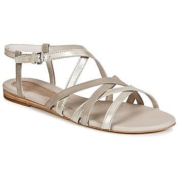 鞋子 女士 凉鞋 Marc O'Polo PRAVA 米色 / 银色