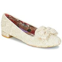 鞋子 女士 平底鞋 Irregular Choice CHAN TILY 奶油色