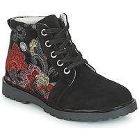 鞋子 女孩 短筒靴 Catimini CAHAUT 黑色