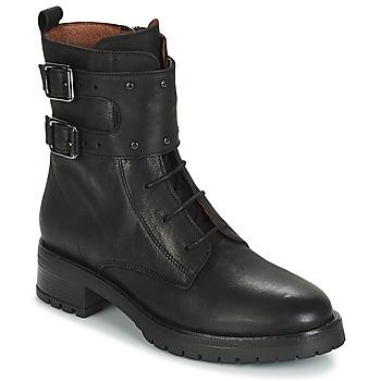 鞋子 女士 短筒靴 Ikks REGNAUT 黑色