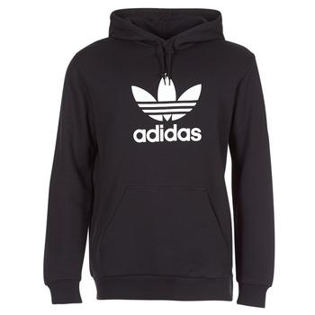 衣服 男士 卫衣 Adidas Originals 阿迪达斯三叶草 TREFOIL HOODIE 黑色