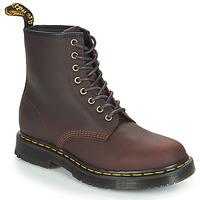 鞋子 男士 短筒靴 Dr Martens 1460 SNOWPLOW 棕色