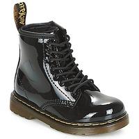 鞋子 女孩 短筒靴 Dr Martens 1460 PATENT CADET 黑色