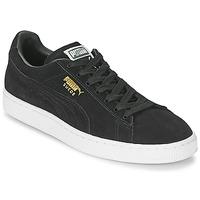 鞋子 球鞋基本款 Puma 彪马 SUEDE CLASSIC 黑色