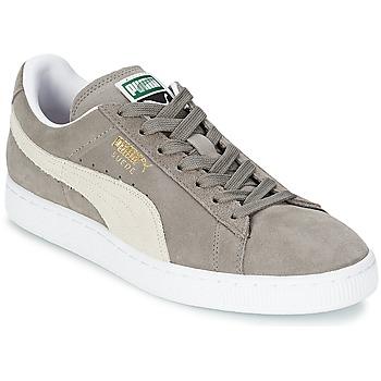 鞋子 球鞋基本款 Puma 彪马 SUEDE CLASSIC 灰色