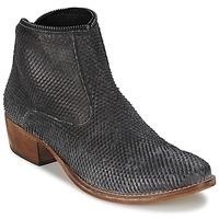 鞋子 女士 短筒靴 Meline ELISE 黑色
