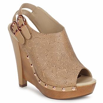 鞋子 女士 高跟鞋 Zandra Rhodes 桑德拉·罗德斯 BROWNWYN 沙色