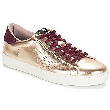 鞋子 女士 球鞋基本款 Victoria 维多利亚 DEPORTIVO METALIZADO 金色