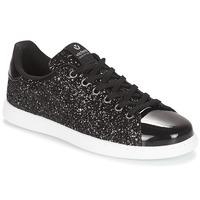 鞋子 女士 球鞋基本款 Victoria 维多利亚 DEPORTIVO BASKET GLITTER 黑色