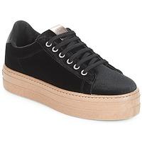 鞋子 女士 球鞋基本款 Victoria 维多利亚 DEPORTIVO TERCIOPELO/CARAM 黑色