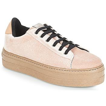 鞋子 女士 球鞋基本款 Victoria 维多利亚 DEPORTIVO TERCIOPELO/CARAM 米色
