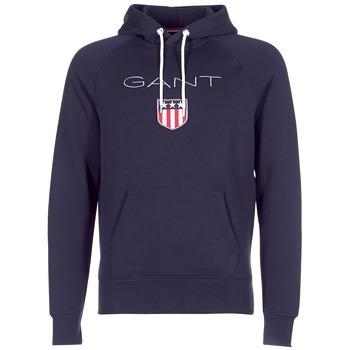 衣服 男士 卫衣 Gant GANT SHIELD SWEAT HOODIE 海蓝色