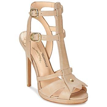 鞋子 女士 凉鞋 Vivienne Westwood CAVIL 米色