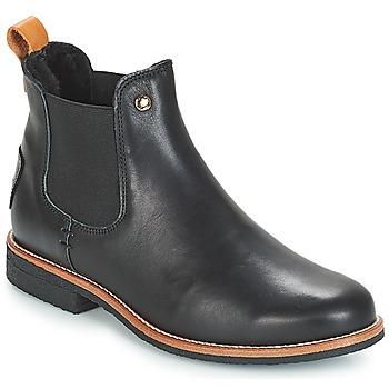 鞋子 女士 短筒靴 Panama Jack 巴拿马 杰克 GIORDANA 黑色