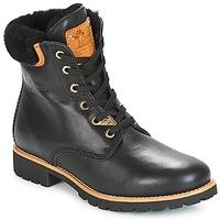 鞋子 女士 短筒靴 Panama Jack 巴拿马 杰克 PANAMA 黑色