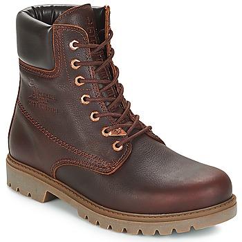 鞋子 男士 短筒靴 Panama Jack 巴拿马 杰克 PANAMA 棕色