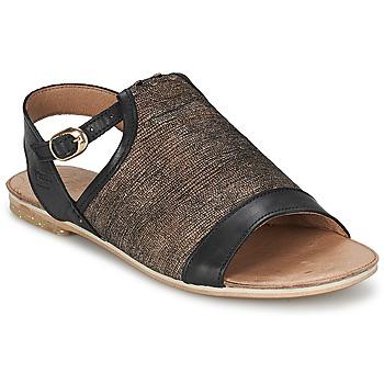 鞋子 女士 凉鞋 Coqueterra CRAFT 黑色