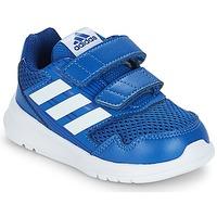 鞋子 儿童 球鞋基本款 adidas Performance 阿迪达斯运动训练 ALTARUN CF I 蓝色