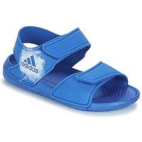 鞋子 兒童 涼鞋 adidas Performance 阿迪達斯運動訓練 ALTASWIM C 藍色