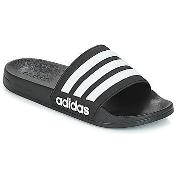 鞋子 拖鞋 Adidas Originals 阿迪达斯三叶草 ADILETTE SHOWER 黑色