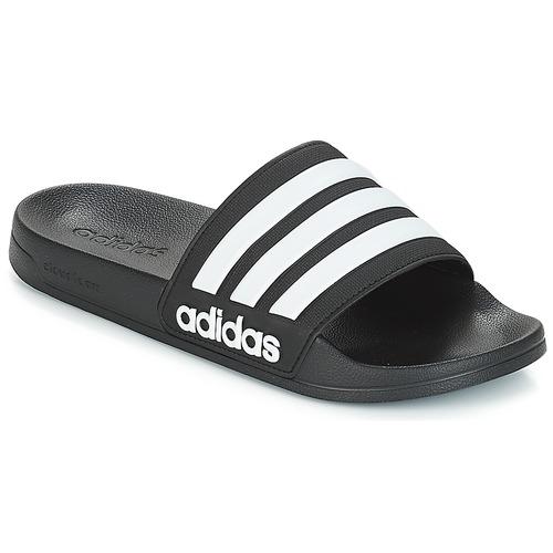 鞋子 拖鞋 adidas Performance 阿迪達斯運動訓練 ADILETTE SHOWER 黑色