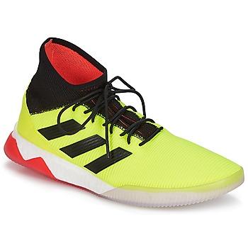 鞋子 男士 足球 Adidas Originals 阿迪达斯三叶草 PREDATOR TANGO 18.1 TR 黄色 / 黑色 / 红色
