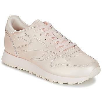 鞋子 女士 球鞋基本款 Reebok Classic CLASSIC LEATHER 玫瑰色