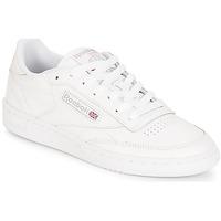 鞋子 女士 球鞋基本款 Reebok Classic CLUB C 85 白色