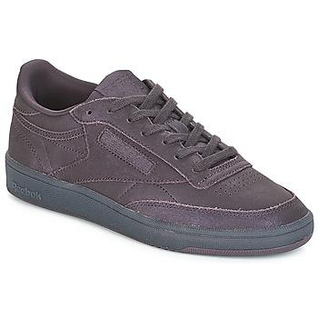 鞋子 女士 球鞋基本款 Reebok Classic CLUB C 85 紫罗兰